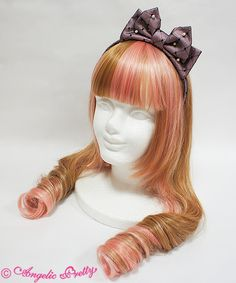 Angelic Pretty Princessドットチュールカチューシャ