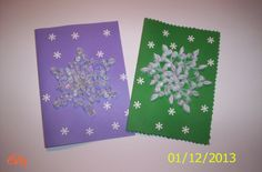 Christmas Cards ~ Part 2 ~ Snowflake