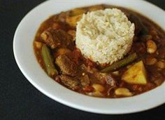 Slow cooked lamb, green beans, and potato, in a savory tomato broth spiked with cumin and allspice. 6 Bowls