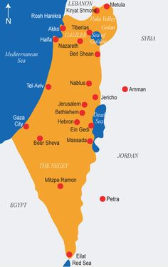 Jerusalem to jericho road yahoo image search results bible maps map of israel gumiabroncs Gallery