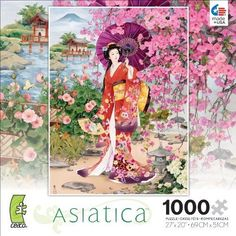 Ceaco Jigsaw Puzzle Asiatica Jigsaw Puzzles 1000 Pieces Brand New Building Toy…