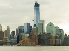 Down town NY, One World Trade Center under construction
