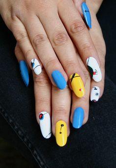 manicnails:    Miró  xx  Manic Monday