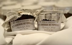 Jewish Wedding Favors - Wedding favors are modest gifts offered as a gesture of appreciation or gratitude to guests in the Wedding Reception Appetizers, Wedding Favors, Mini Burgers, Stuffed Hot Peppers, Food Truck, Real Weddings, Catering, Homemade, Blue Ridge