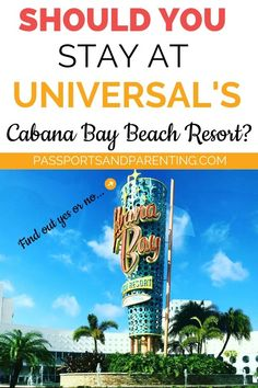 I love not only gifting people with travel and travel related experiences, but I love surprising them too. When our son turned 13 a few years ago his father and I surprised him in a big way. We took him to visit Universal Studios and Islands of Adventure for a few days. After looking at all of the resort options we decided to stay at Universal's Cabana Bay Beach Resort.