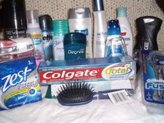 7 Essential Toiletries…and 3 Non-Essentials Cruise Checklist, Packing List For Cruise, College Hacks, Non Profit, Shelter, Back To School, Water Bottle, Organization, Pictures