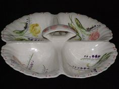 Vintage Blue Ridge China Pottery HandPainted Yellow by parkie2, $41.30