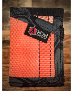 One of my favorite colors of fire hose....Orange