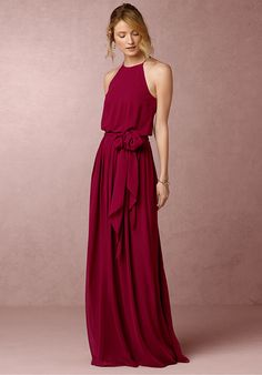 Anthropologie Alana Wedding Guest Dress - Searching for something a bit different? Look no further than this elegant chiffon dress. Dipped in the prettiest hues, the high neck and long, sweeping skirt lend loads of romance and femininity to this look. The Dress, Dress Skirt, Ruffle Dress, Robes Glamour, Best Wedding Guest Dresses, Dress Wedding, Fall Wedding, Wedding Outfits, Dress Prom