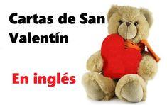 Cartas de San Valentín en inglés