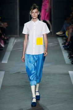 Keep calm & think of Ukraine. Marc by Marc Jacobs ss15