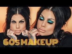 Makeup LOOK – Easy Lana Del Rey/Priscilla Presley Makeup Tutorial – Spring look 60s Makeup And Hair, 70s Makeup, Beauty Makeup, Rocker Makeup, Makeup Stuff, Vintage Makeup, Blue Makeup, Fall Makeup, Beauty Stuff