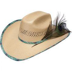 ❦ Oleander B Wrangler by Resistol Hats Straw