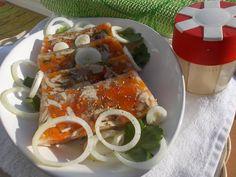 Libová huspenina z kuřecího masa a barevné zeleniny