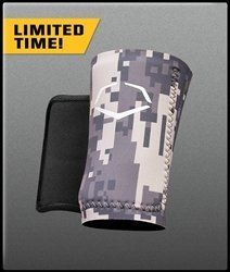 EvoShield Protective Wrist Guard A150 by EVO. $24.95. EvoShield's Wrist Guard features a neoprene compression sleeve with a protective Shield insert. The Shield starts off soft, but hardens when exposed to air. Slide the Shield into the sleeve and it molds to your wrist for a true custom fit.
