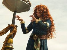 Pin for Later: Yes, You Can Be a Disney Princess —Here's How! Merida