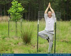 """#Yoga Poses Around the World: """"Tree Pose :) - by Ryan S."""""""