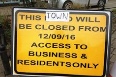 Nine months of roadworks in Bodmin town centre is not acceptable to local people.