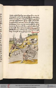 Cod. Pal. germ. 84: Antonius von Pforr: Buch der Beispiele ; Passionsgebet (Schwaben , um 1475/1482), Fol 42r