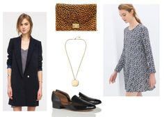 Perfect For: Any non-corporate office--feminine tunic, oversized blazer, loafers.