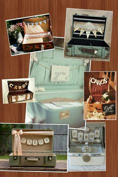 "Card box ideas for ""oh the places you'll go""graduation party."