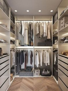 Walk in closet design move in ready wardrobe room, walk i Walk In Closet Design, Bedroom Closet Design, Master Bedroom Closet, Small Walk In Wardrobe, Open Wardrobe, Bedroom Small, Perfect Wardrobe, Bedroom Storage, Best Wardrobe Designs