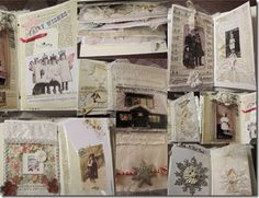 More like a cross between a scrapbook and an altered book.