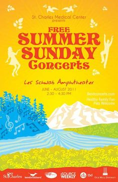 Free concert? Yes please! Bend, Oregon summer