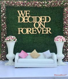 Mesmerize your guests with the charm of these engagement stage decorations ideas. Discover about the latest Engagement Stage Decoration Ideas with this post. Wedding Backdrop Design, Desi Wedding Decor, Wedding Stage Design, Wedding Decorations On A Budget, Backdrop Decorations, Wedding Designs, Wedding Stage Backdrop, Wedding Mandap, Wedding Receptions