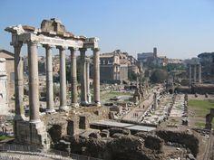 Ancient Roman Forum.  Center of Roman society.  Was unbelievable.