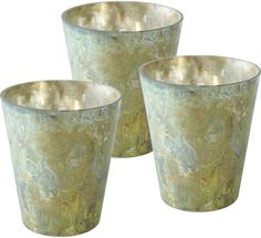 Pin for Later: The Prettiest Way to Create Mood Lighting  Grecian Votives ($28 for set of 3)