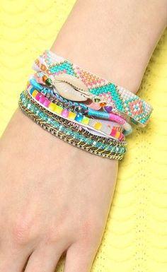 Hipanema Fluo Multi Bracelet  - Shopbop