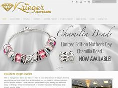 B2 Web Studios' Joomla website design for Krieger Jewelers in Appleton, Wisconsin - http://kriegerjewelers.com