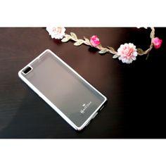 Etui Huawei P8 Lite srebrny