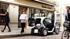Renault Twizy Elétrico ideal para agentes comerciais ou redes de partilha de viaturas. www.renault.pt