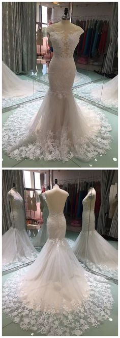 Mermaid Wedding Dresses, Vestidos De Noiva, Gelinlik, Vestido De Novia, Wedding Dresses Turkey