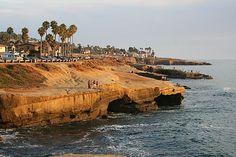 Sunset Cliffs, San Diego, California  I guess I'm a little homesick...