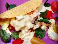 Vis taco's met BBQ tilapia en avocado - Francesca Kookt