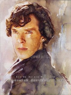Freaking amazing Sherock fan art!!! Its amazing! Sherlock - I can not think of a title... by AuroraWienhold.deviantart.com on @deviantART