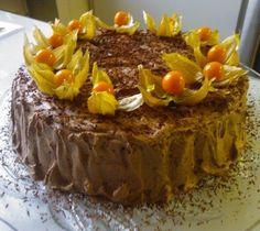 Tyrni-suklaakakku.