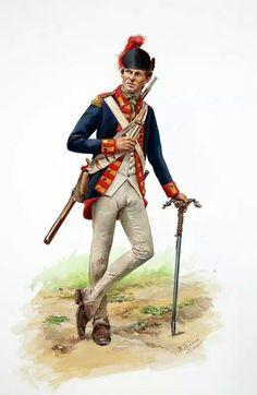 Cannoniere americano lealista