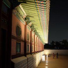 서울밤의 아름다움 ^^ The beauty of Seoul City at night! #tequierocorea #korea #corea #seul #seoul #서울 #밤 #경복궁 #palace #palacio #night #noche