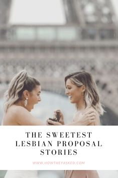We're swooning over these 12 lesbian proposal stories on How They Asked by The Knot. Keep reading to see all of them! Winter Proposal, Christmas Proposal, Surprise Engagement, Surprise Proposal, Great Gatsby Themed Wedding, Cute Surprises, Engagement Stories, Honeymoon Planning, Marriage Proposals