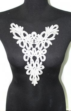 Garment Sewing Applique Collar von CRAFTASY auf DaWanda.com
