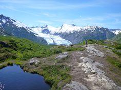 Portage Pass Trail , Whittier, Alaska, PleinAirEnVR