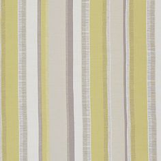 Buy Opal John Lewis & Partners Pioneer Stripe Fabric from our View All Fabrics range at John Lewis & Partners. Striped Curtains, Striped Fabrics, Green Lounge, Paint Shop, Grey Yellow, Fabric Online, New Pins, Textile Patterns, Pattern Wallpaper