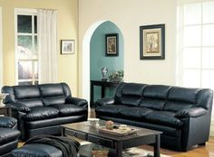 2pc Sofa Set with Pillow Top Seat in Deep Black Bonded Leather by Coaster Home Furnishings, https://www.amazon.com/dp/B0057PROIO/ref=as_li_ss_til?tag=howtobuild005-20=0=0=as4=B0057PROIO=1G09YT3J2857ZX1NG05K
