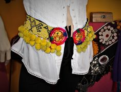 Hippie Gürtel Kuchi Tribal Perlengürtel mit von neemaheTribal