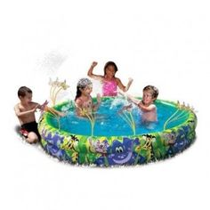 Banzai Spray 'N Splash Jungle Fun Kids Pool $15.99