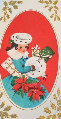 vintage christmas cards - Google Search